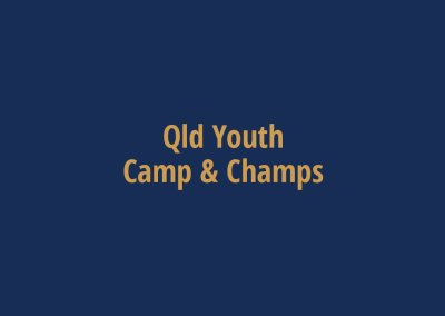 Qld Youth Camp & Champs