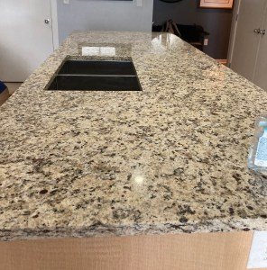 KB Commercial Granite Fabrication<br>© KB Stewart Construction, LLC.