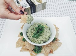 Tuckers natural crackers and dip