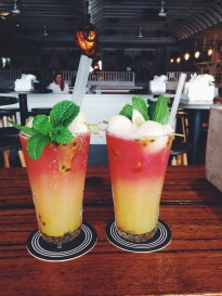 Riverbar & Kitchen - sugarfree mocktails