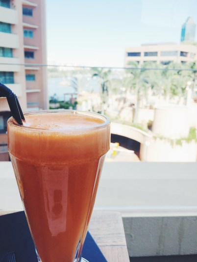 Fresh Juice with a view