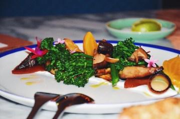 Winter Vegetables | Celeriac, parsnip, broccolini, quince, labneh (v) (gf)