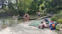 WOW Waldwoche: Spaß am Wasser