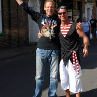 Pirate`s Festival in Wells next the Sea