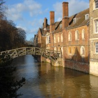 Newton`s Bridge, Cambridge