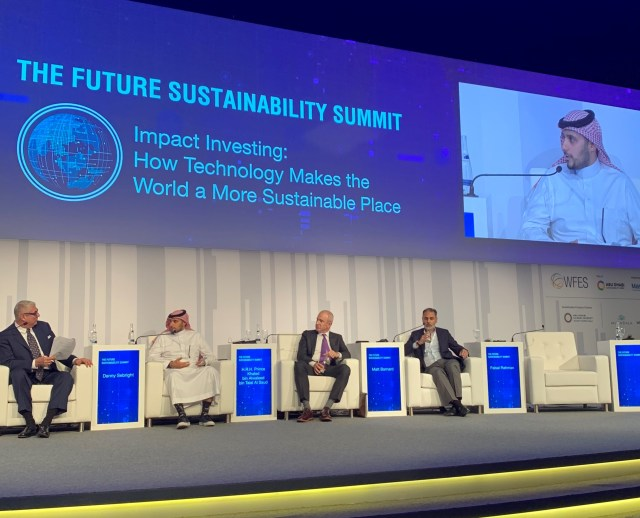 HRH Prince Khaled bin Alwaleed participates in Abu Dhabi Sustainability Week 2019