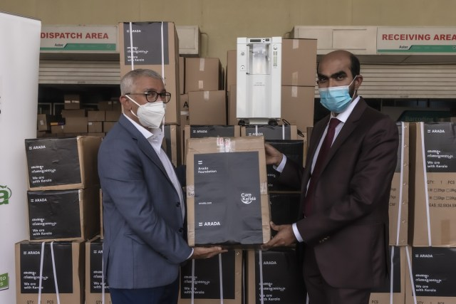Arada Foundation dispatches lifesaving equipment to India in support of Care for Kerala initiative