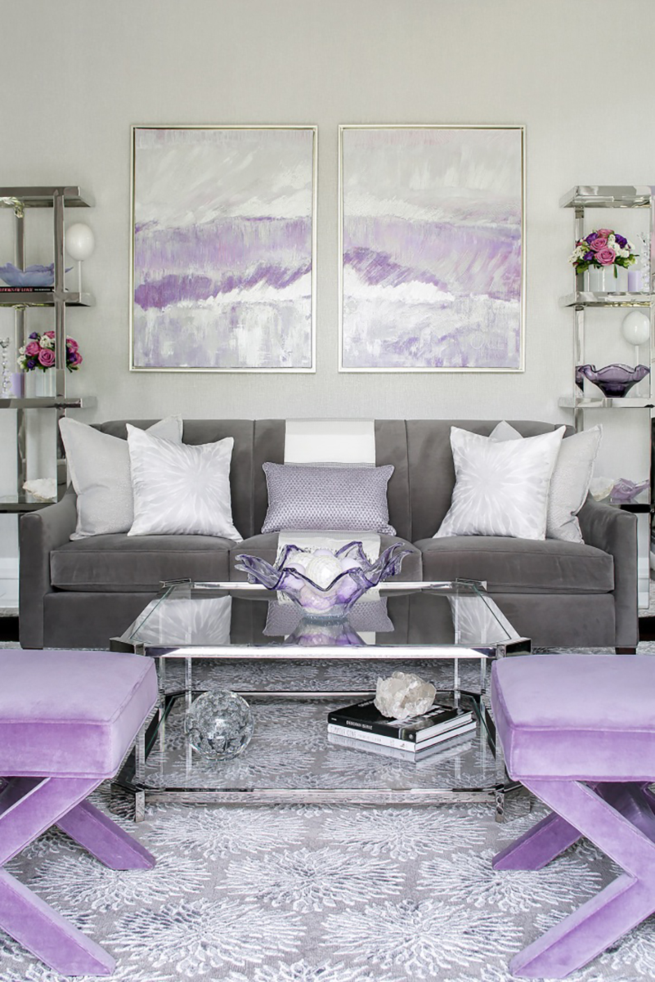 Living Spaces Karen B Wolf Interiors