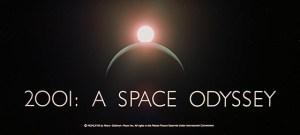 2001 titlecard web design