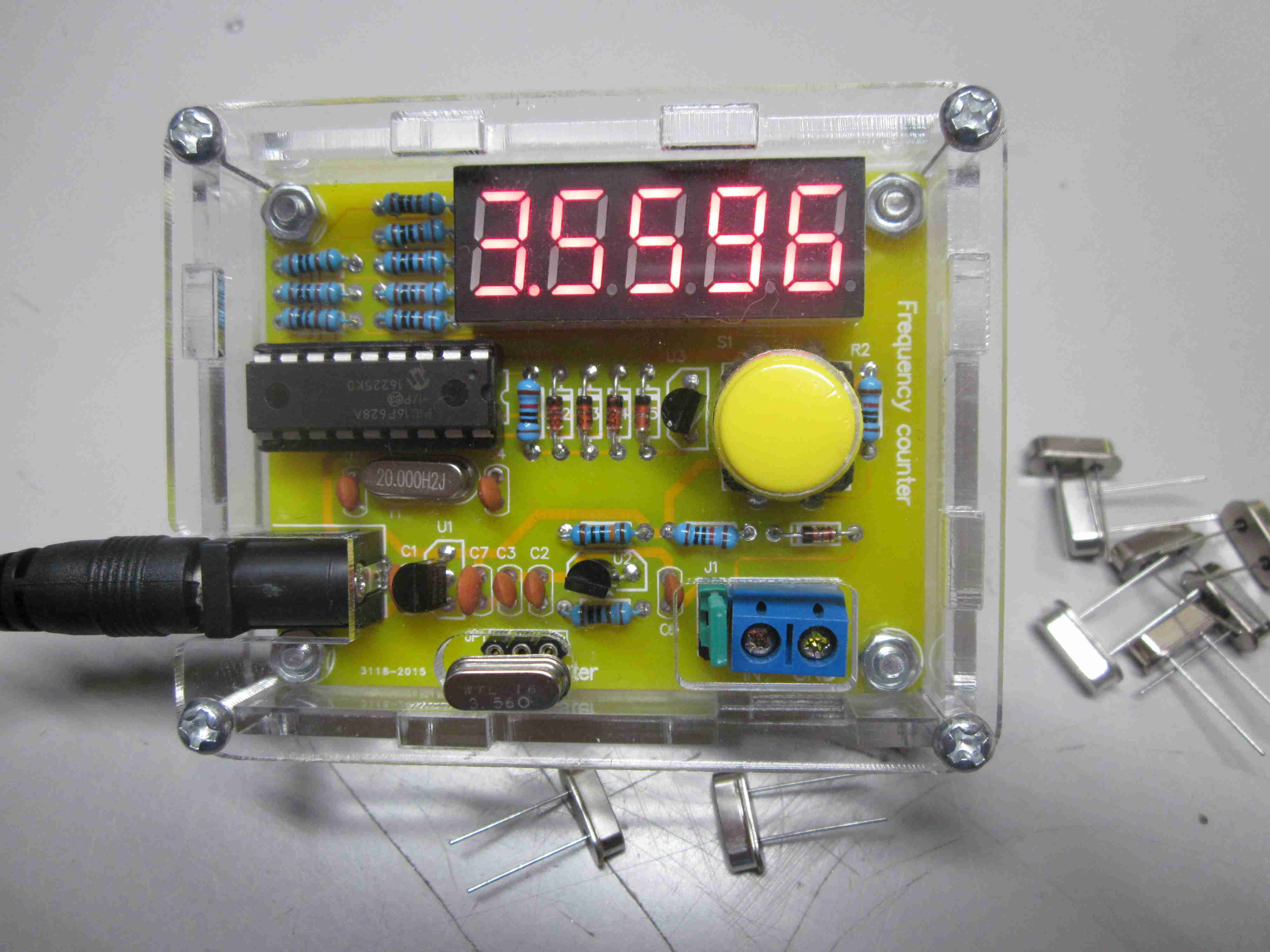 Crystal Tester Counter 3rd Planet Solar Kc9on Frequency Schematic Kit Cost 10