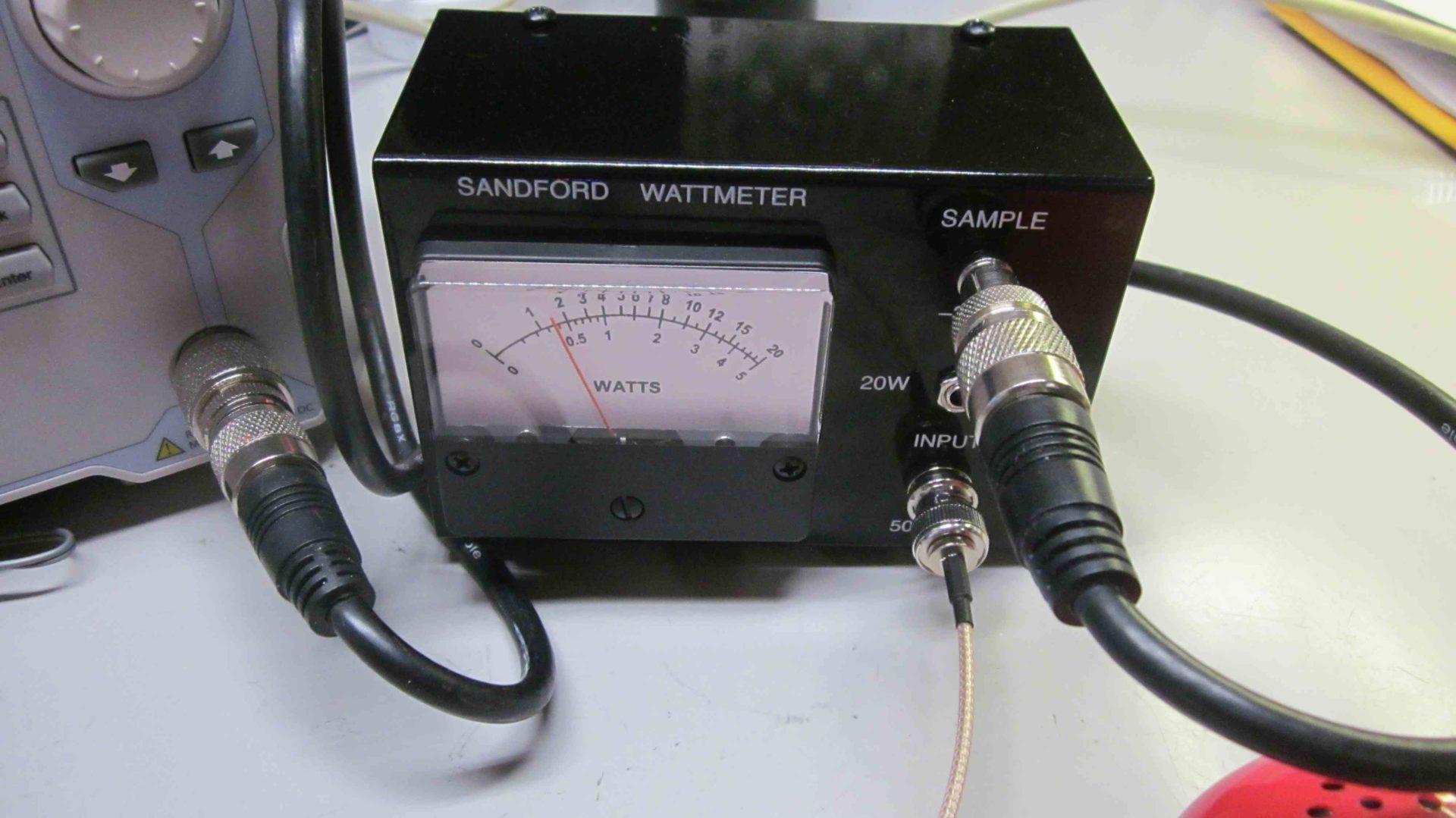 Sandford Wattmeter - 3rd Planet Solar / KC9ON