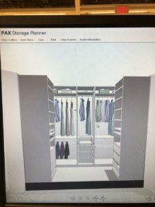 Small Closet Makeover With Ikea Pax Closet System Part 1