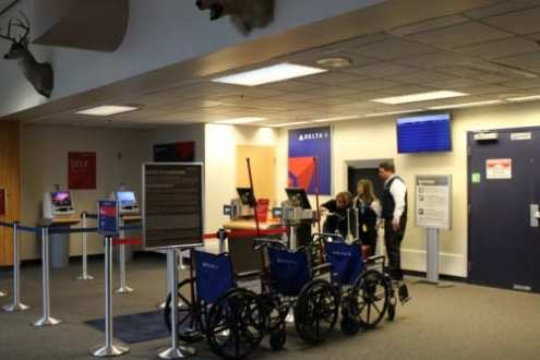 Delta touches down in Sitka   KCAW Delta has set up shop at Sitka s Rocky Gutierrez Airport  Daily flights  will be offered from May 15  2015 until November 7  2015  at prices that  compete