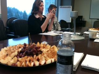 healthy meeting