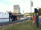 Brett Pruitt & East Market Studios capturing KCB II in front of Union Station