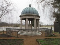 Andrew and Rachel Jackson's tomb on The Hermitage grounds.
