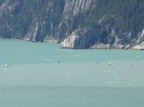 Wind surfers in Howe Sound