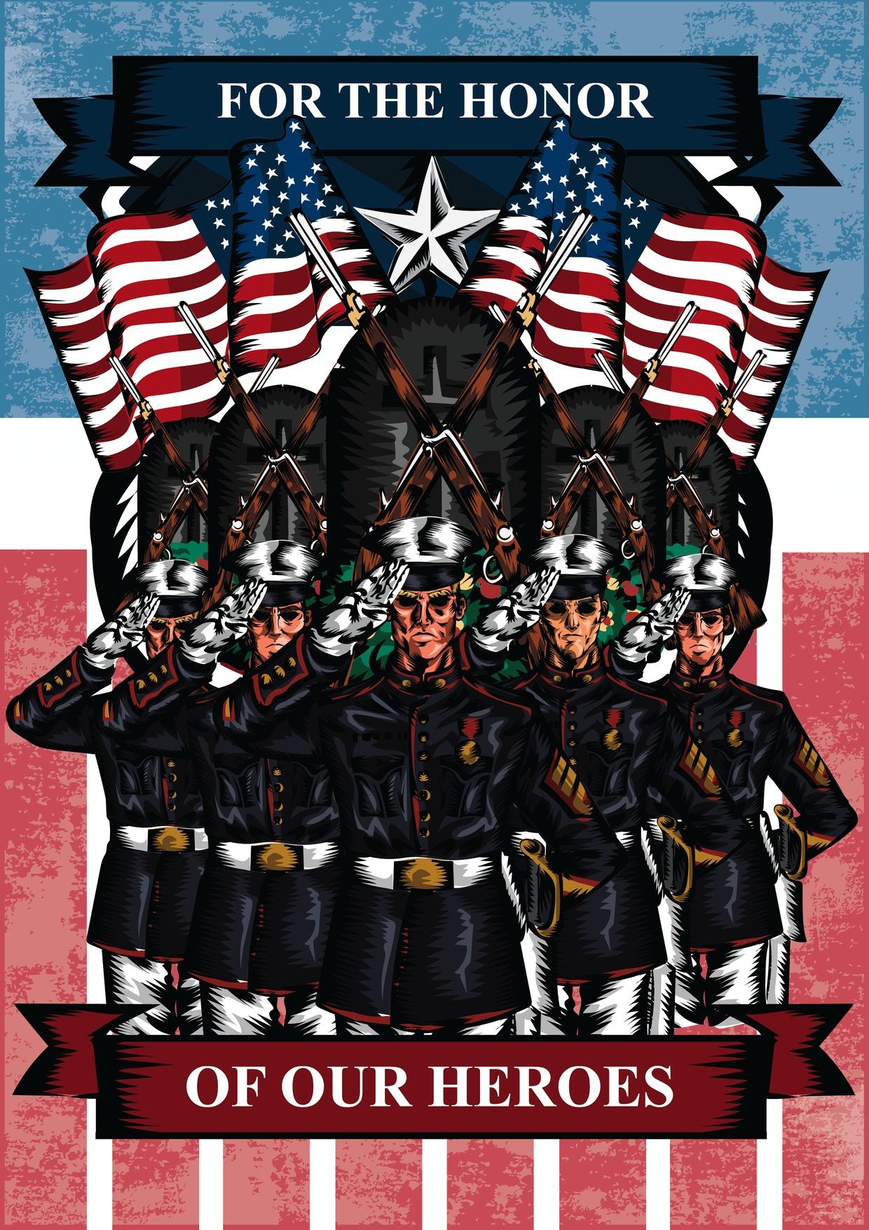 Memorial Day salute