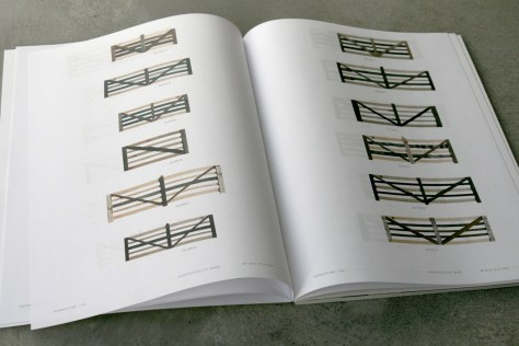 Boerenverstand book, field gates composed from planks