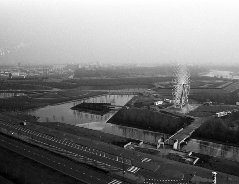 Floriade venue under construction, 1972