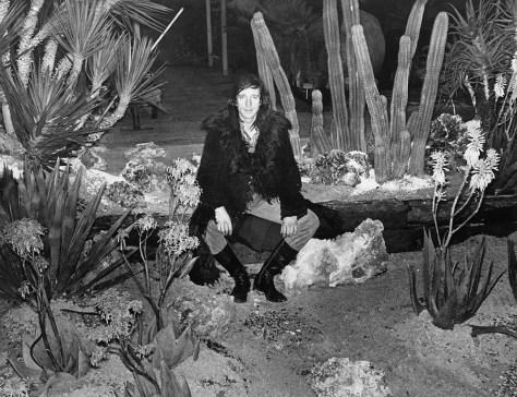 Ramses Shaffy visiting the Floriade, 1972