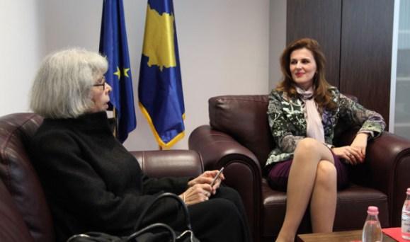 Minister of EU Integration hosted the Ambassador of France in Kosova