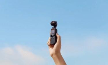【新商品】コンパクトなボディに手ブレ補正機能を搭載した4Kカメラ「DJI Pocket 2」を、DJIが発表