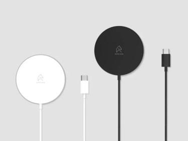 【新商品】Epeiosブランドよりマグネット機構搭載型ワイヤレス充電器「Wireless Fast Charger 15W」が発売