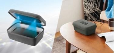 【新商品】3分の光照射でスマートフォンやマスクなどを除菌できるUV除菌ボックスが発売