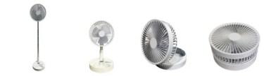 【新商品】折りたたみコードレス扇風機が発売