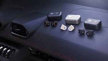 【新商品】『ランボルギーニ』のデザインとマテリアルからインスパイアされた、ハイクオリティなオーディオコレクションが発売