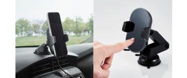 【新商品】センサーによりホールドアームが自動開閉する片手で簡単にスマートフォンが設置可能なワイヤレス充電式車載ホルダーが発売
