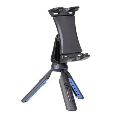 【新商品】230mm幅までのタブレットをそのまま装着できる卓上三脚「SLIK タブレットポッド」 が発売