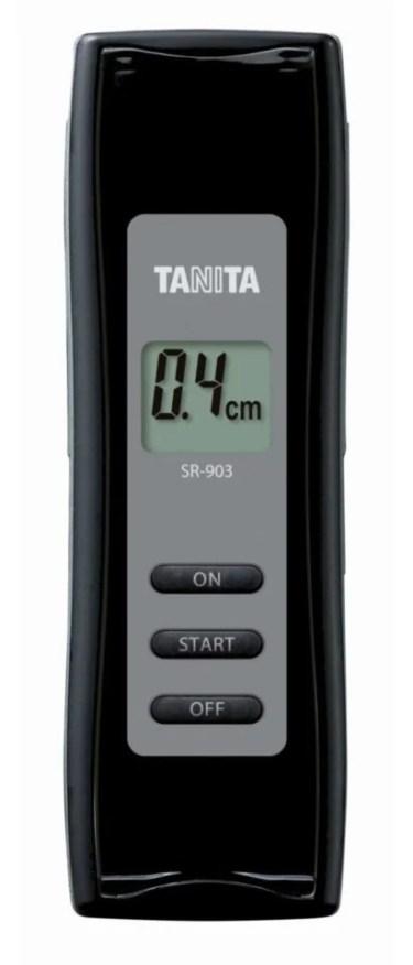 【新商品】皮膚と筋肉の間の皮下脂肪の厚さを約5秒で簡便に計測できる皮下脂肪厚計「SR-903」が発売