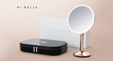 【新商品】自然光を再現するスマートセンサーメイクアップミラー、HI・BELLA「ガラミラー」が発売