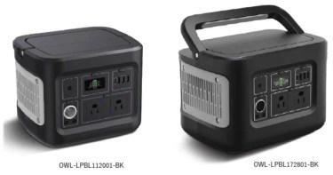 【新商品】大容量ポータブル電源を発売 〜112,000mAh(最大出力400W)と、172,800mAh(最大出力600W)が発売