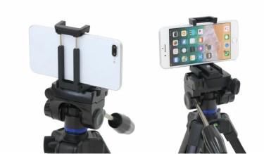 【新商品】スマホ・カメラ兼用のテーブル三脚「スリック スマホ対応 GX-m compact」が発売