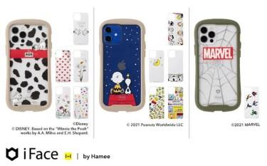 【新商品】「iFace」インナーシートから人気キャラクターのiPhone12シリーズが発売