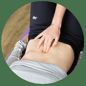 tummy split