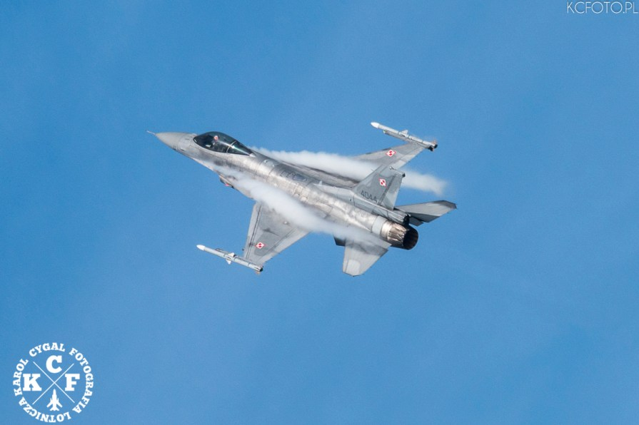 afterburner, air, aircraft, airshow, aviation, blue, clouds, demo, demonstration, fighter, flight, FLY, flying, historical, hot, jet, kcfoto.pl, military, NATO, plane, POLAND, Polish Air Force, sky, sunse
