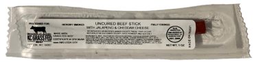 Grass-Fed Beef Sticks Jalapeno & Cheese