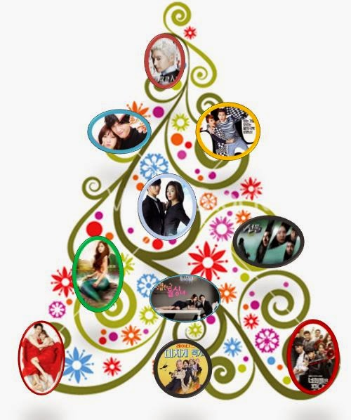 Kdrama christmas tree
