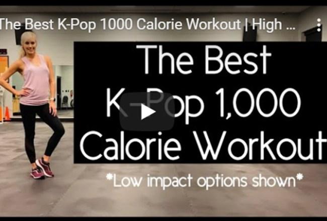 Kpop themed workout
