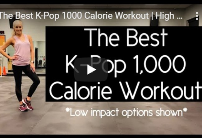 Best Kpop 1000 Calorie Workout