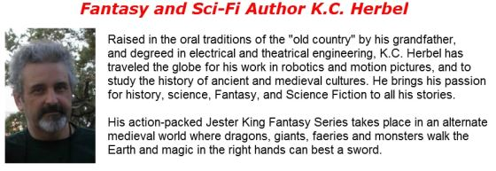 Fantasy and Sci-Fi Author K.C. Herbel