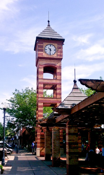 Clock Tower, downtown Overland Park