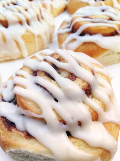 Cinnamon rolls from Dolce Baking Co, Prairie Village