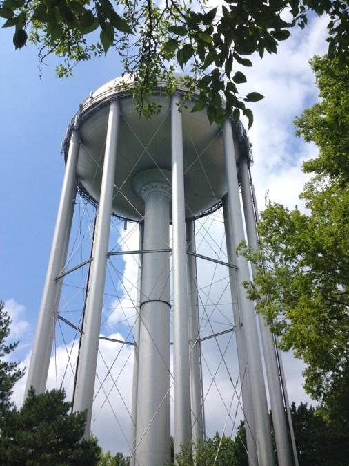 water tower in McCrum Park, Prairie Village