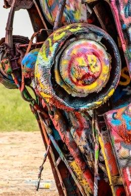 Cadillac Ranch in Amarillo, Texas