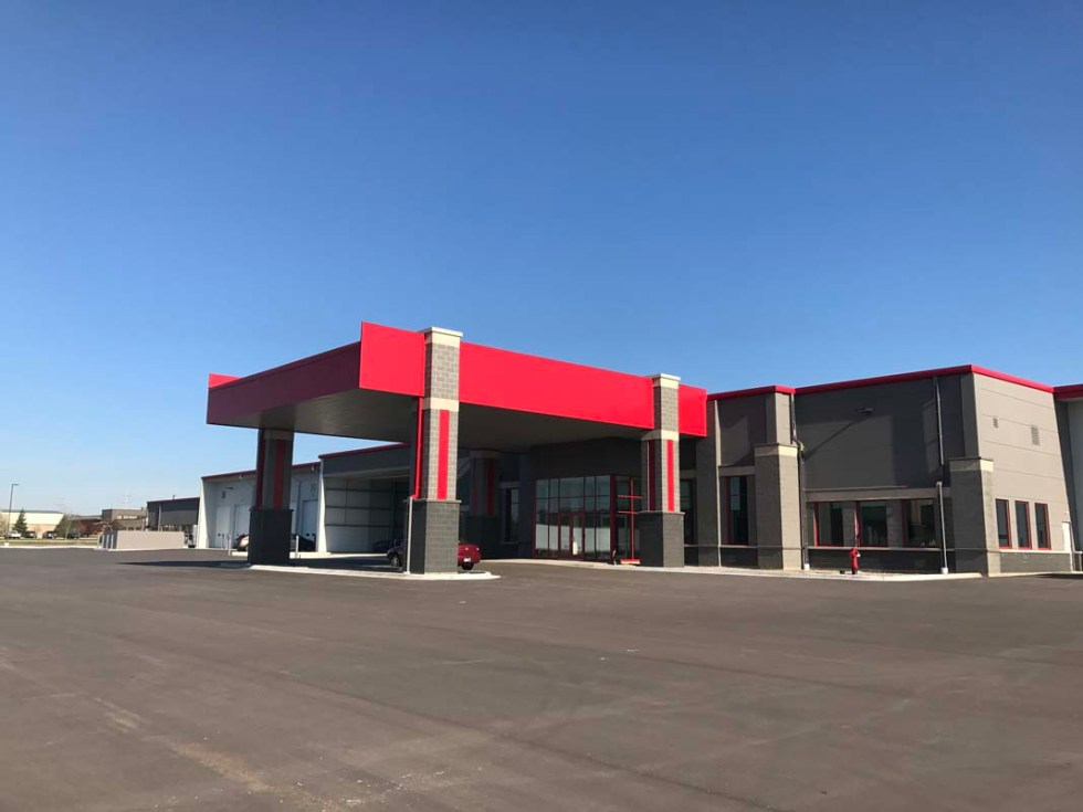 Kiehm Construction project - Interstate Companies front